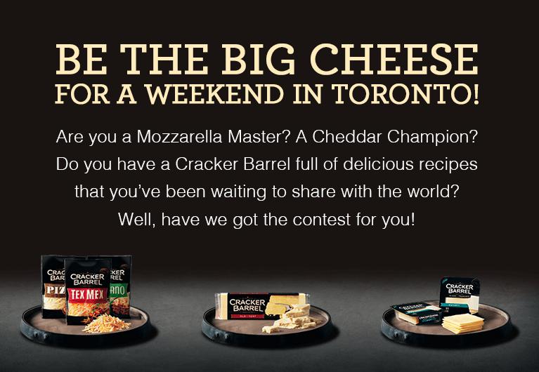 Cracker Barrel The Big Cheese | Food Network Canada Contest