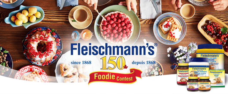 Fleischmanns 150th | Food Network Canada Contest