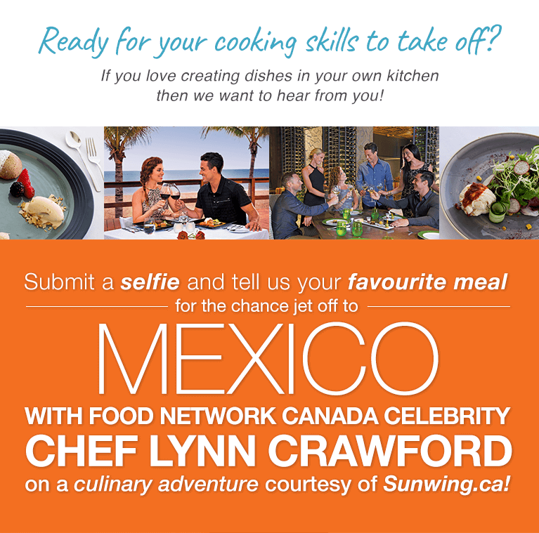 Sunwing | Food Network Canada Contest